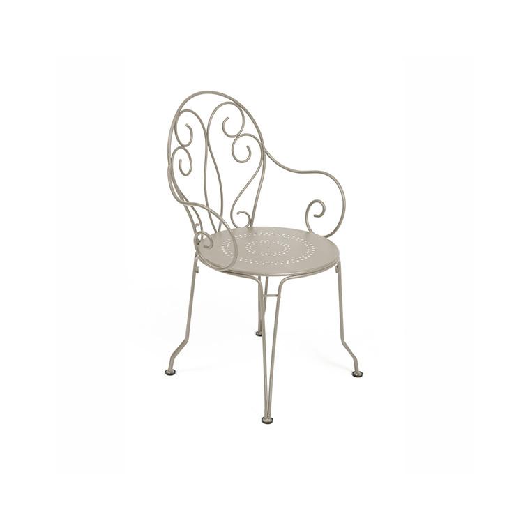 Fauteuil de jardin Montmartre Fermob muscade : Tables et chaises de ...
