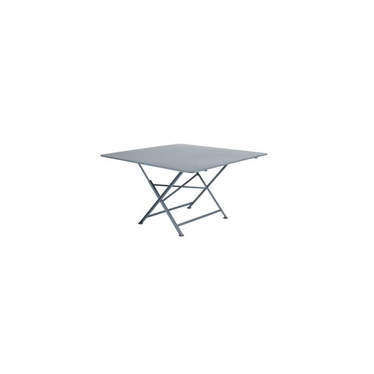 Table pliante - Gris orage - 4/6 personnes : Tables de jardin FERMOB ...