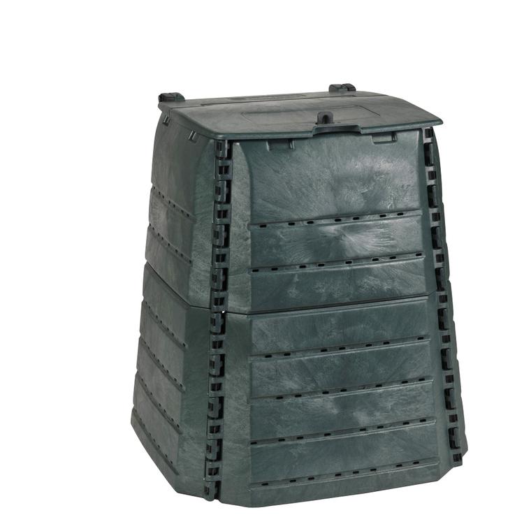 Composteur en plastique recyclé 320 litres : Compostage et recyclage ...
