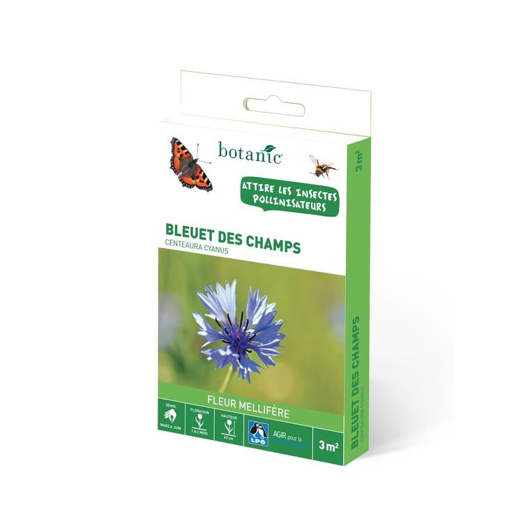 bleuet des champs graines de fleurs pour la biodiversit botanic jardin botanic. Black Bedroom Furniture Sets. Home Design Ideas