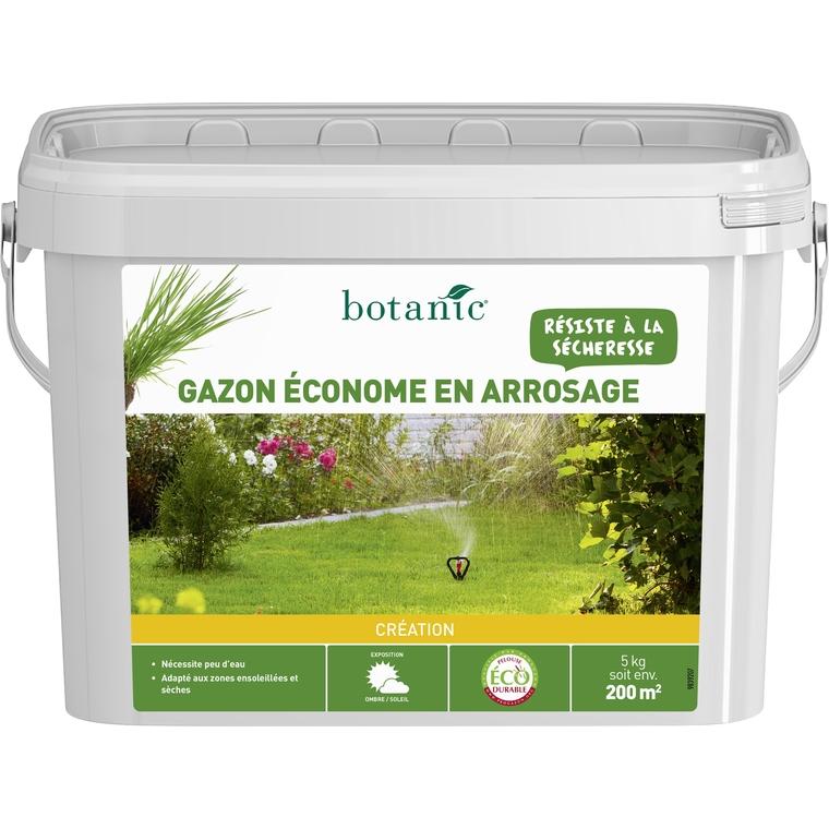 gazon conome en arrosage label co durable 5 kg semences de gazon botanic jardin botanic. Black Bedroom Furniture Sets. Home Design Ideas