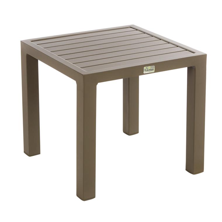 Table basse de jardin café en aluminium LOU : Salons de jardin ...