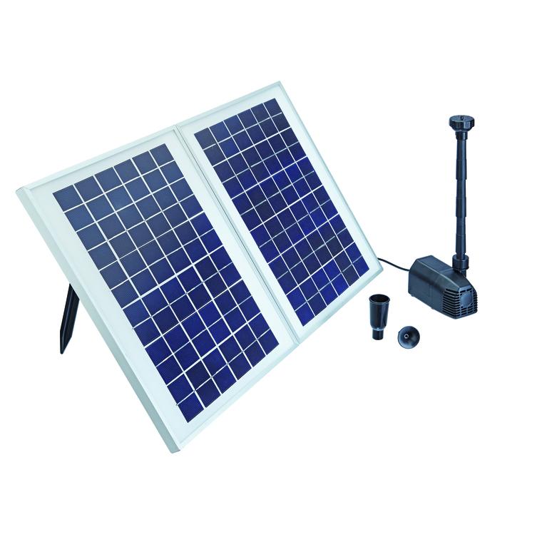 Fontaine solaire Pondo Solar 1600 : Fonctionnement et entretien OASE ...