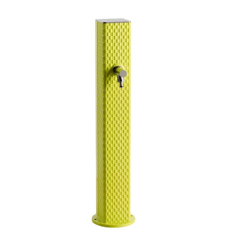 Borne-fontaine Pixel couleur vert anis sans vasque – 92 cm ...