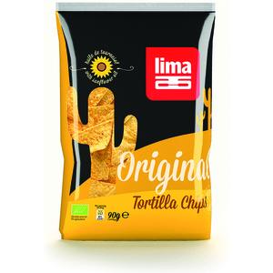 Tortilla chips original bio en sachet de 90 g 201176