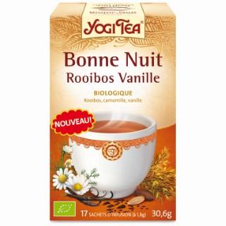 Yogi tea Bonne nuit Rooibos Vanille – La boîte de 17 sachets 202001