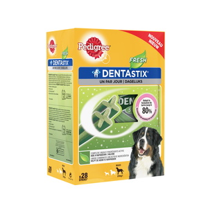 Pedigree Dentastix Fresh Pour Grands Chiens (28 Sticks) 206400