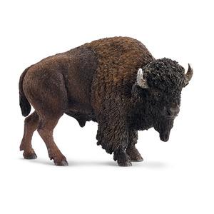 Figurine Bison Série Animaux sauvages 11x5x7,5 cm 207830