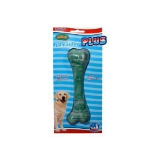 Jouet pour chien Dental Os vert taille M Ø 16 cm 209353