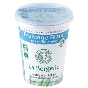 Fromage blanc de brebis nature - 400 g 211300