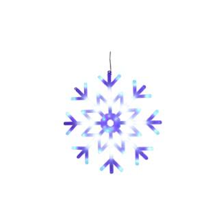 Flocon blanc effet chute d'eau 40 cm de diamètre 211323