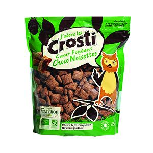 Céréales Crosti Cœur Fondant Choco Noisettes - 525 gr 211608