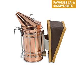 Enfumoir en cuivre avec protection 27x13x27 214757