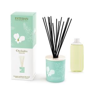 Bouquet parfumé à l'orchidée blanche avec recharge de 100 ml 215203