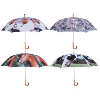 Parapluie animaux de ferme Ø120x95 cm 217554