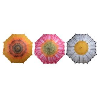 Parapluie fleurs Ø102,5x84 cm 217556