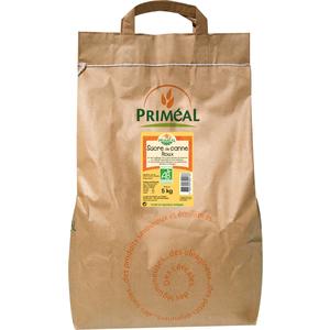 Sucre de canne roux 5 kg PRIMEAL 220269