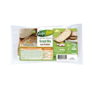 Pain Grand bio aux graines - 500 gr 221116