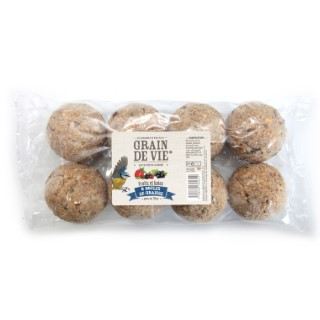 8 boules de graisse découverte fruits baies 720 g 222085