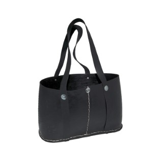 Sac du marché de couleur noire TADE PAYS DU LEVANT 222393