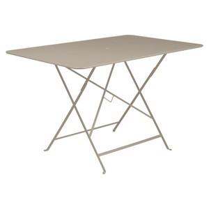 Table de jardin pliante Bistro FERMOB muscade 117 x 77 x 74 cm 222667