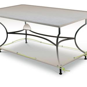 Housse protection table de jardin rectangulaire 8 10 - Housse protection table jardin rectangulaire ...