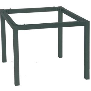 Pieds de table en aluminium coloris noir de 90 x 90 x 72 cm 222945