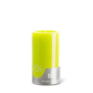 Bougie cylindrique 7x10 cm - Vert anis 223386