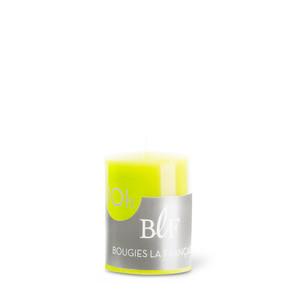 Bougie votive cylindrique 3,8x4,8 cm - Vert Anis 223393
