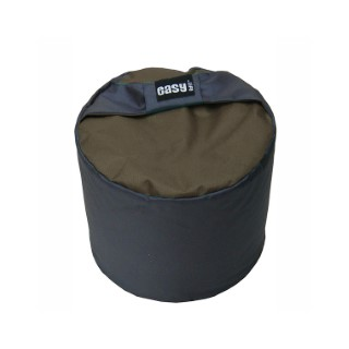 Pouf de jardin Big Curling Easy Life taupe 223782