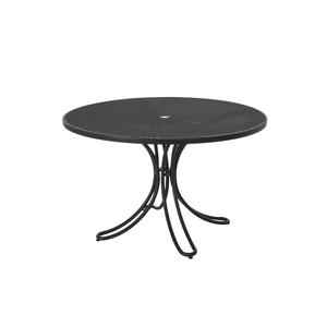 table de jardin ronde florence emu fer ancien 120 x 75 cm tables de jardin emu mobilier botanic. Black Bedroom Furniture Sets. Home Design Ideas