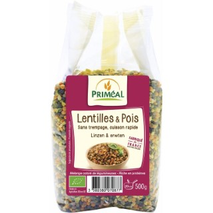 Lentilles et pois 500 g PRIMEAL 224098