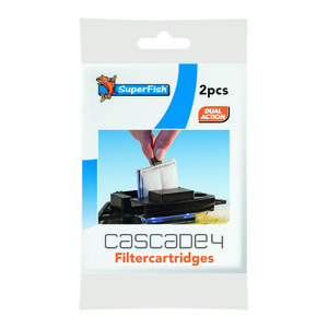 Cartouche filtration Cascade 4x2 pièces 6x9x2 cm 224727
