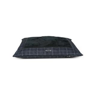 Coussin Scruffs Balmoral noir 100 x 70 cm 224769
