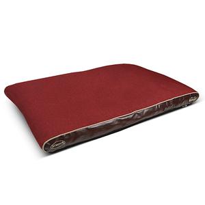 Coussin à mémoire de forme Scruffs Hilton rouge 224772