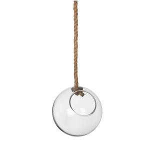 Boule en verre pour plante à suspendre Ø 15,5 x H 15 cm 224808