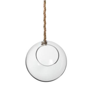 Boule en verre pour plante à suspendre Ø 22 cm 224809