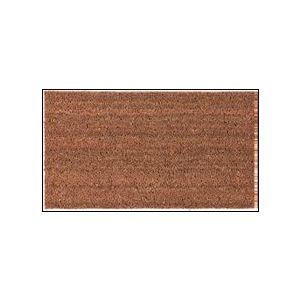 Paillasson Coco écru en fibres de coco marron 80 x 33 cm 225339