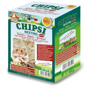 Litière pour rongeur chipsi nesting active 50 g 225495