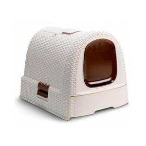 Maison de toilette pour chat Curver® beige  225602