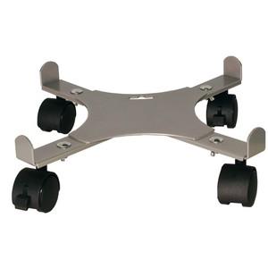 Support 4 roulettes extensible gris alu 34 à 51 cm 226981