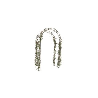 Arche Volute Arrondie en acier plein 2,24 m de haut 227006