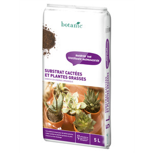 Substrat cactées et plantes grasses 5 L 227011