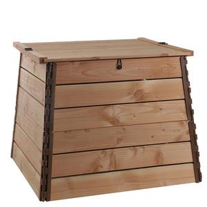Composteur bois botanic® 500 litres - 84 x 84 x 75 cm 227650