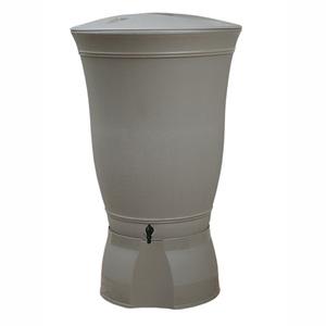 Récupérateur à eau Floral 300 L taupe 227662