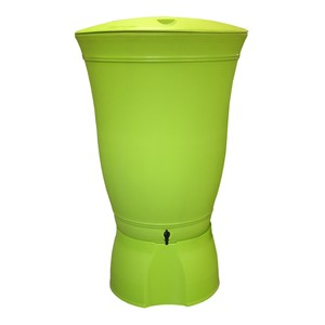 Récupérateur à eau Floral 300 litres vert Anis 227664