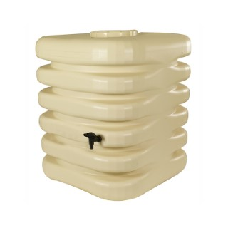 Récupérateur à eau cubique 1000 L beige 227666