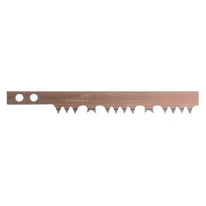 Lame de scie à bûches en acier trempé denture américaine gris - 53 cm 227701