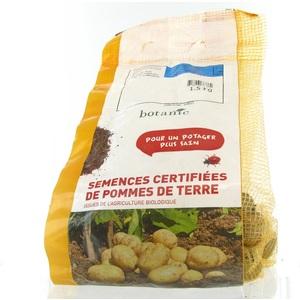Pommes de terre Agata bio calibre 0001, 1,5 kg 229011