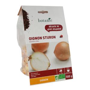 Bulbes d'oignon Sturon AB bio 500 g 229046